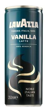 Can of Lavazza Vanilla Latte
