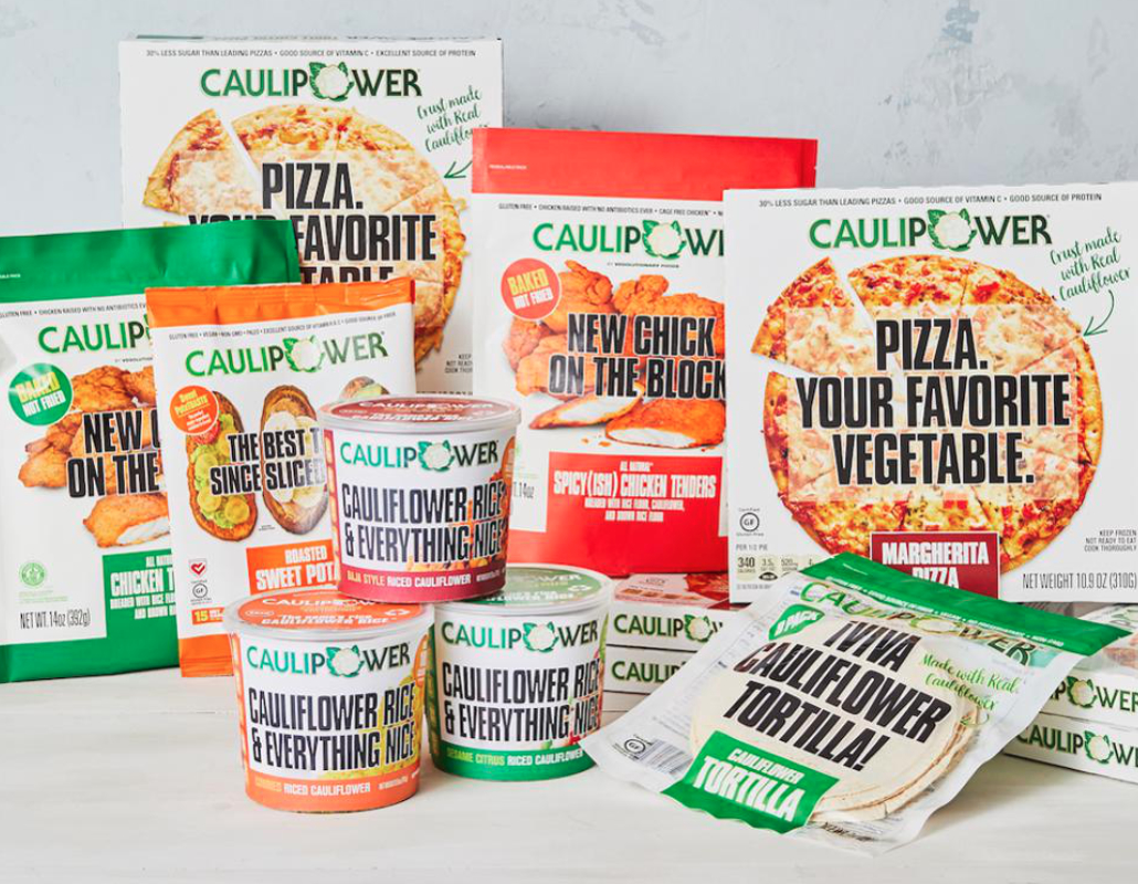 Caulipower cauliflower-based products
