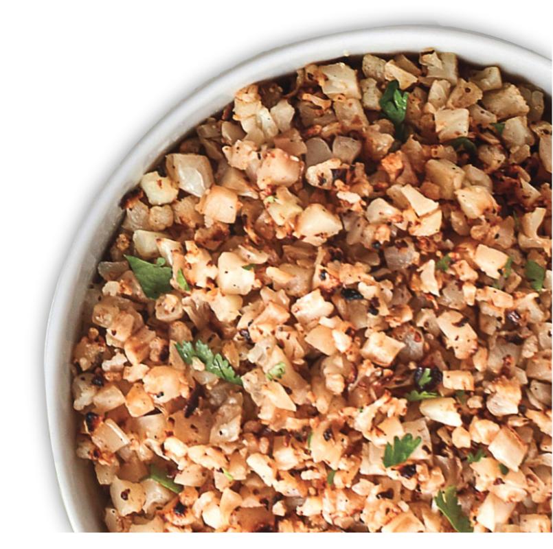 Chipotle cauliflower rice