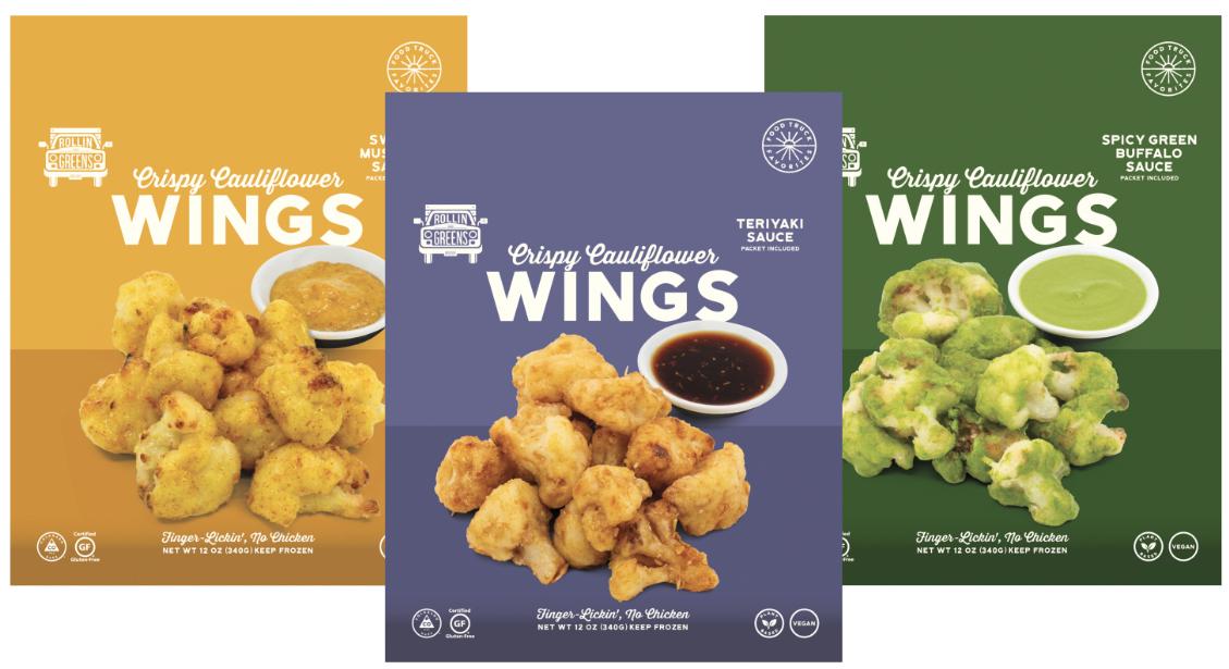 RollinGreens cauliflower wings