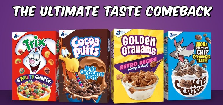 With '80s cereal formulations, General Mills goes back to the future | Food Dive