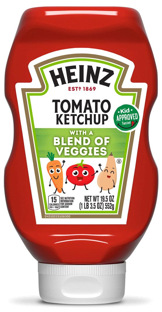 Heinz veggie ketchup