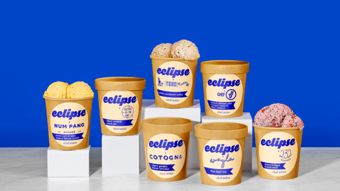 Eclipse Releases New Round of Chef Collaboration Ice Creams to Raise Money for Charity | vegconomist