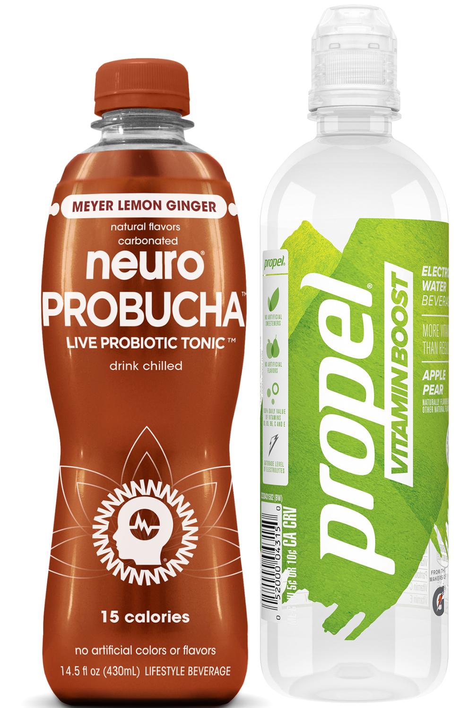 Nuero Probucha and Propel Vitamin Boost