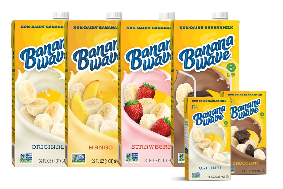 Banana Wave Bananamilk Rides the Oatmilk Trend with Four Flavors | Go Dairy Free