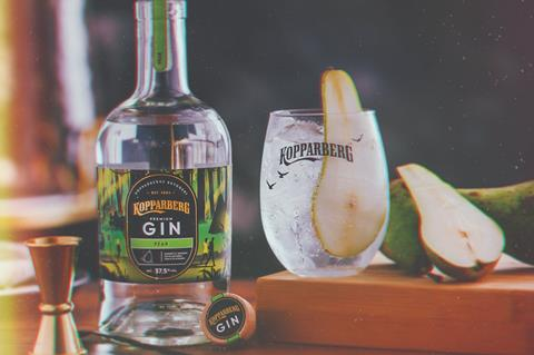 Kopparberg Limited Edition Pear Gin
