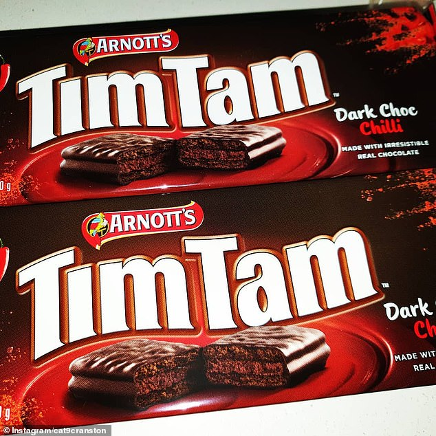 Tim Tam releases a limited edition CHILLI dark chocolate biscuit | Dailymail