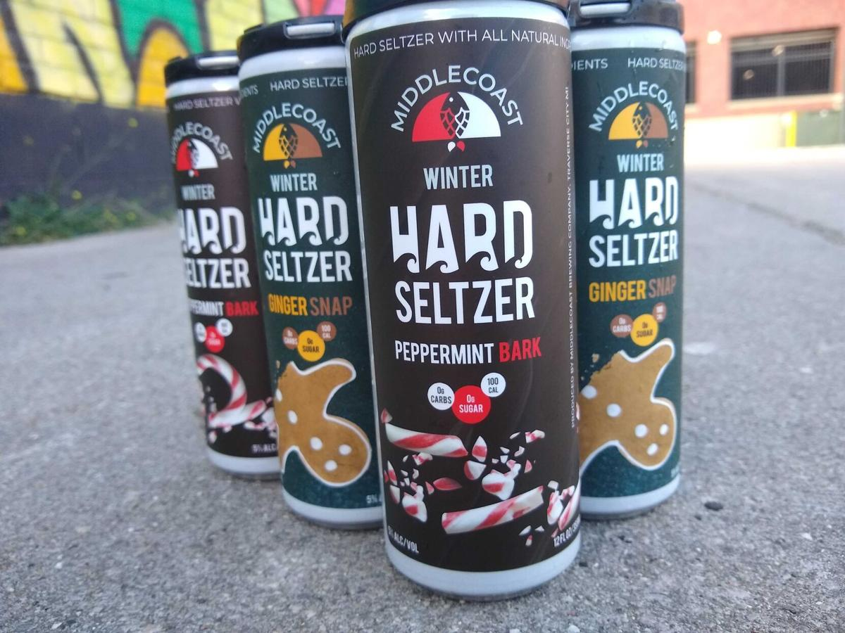 Ginger Snap and Peppermint Bark Hard Seltzers   the BIZ – record-eagle.com