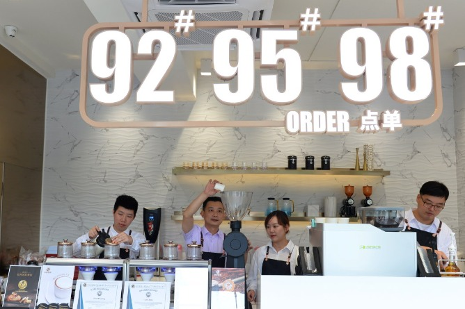 Hot brews taking on unique, creative new flavors in convenience stores | Chinadaily.com.cn