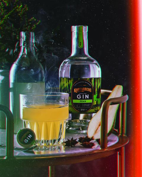 kopparberg pear gin