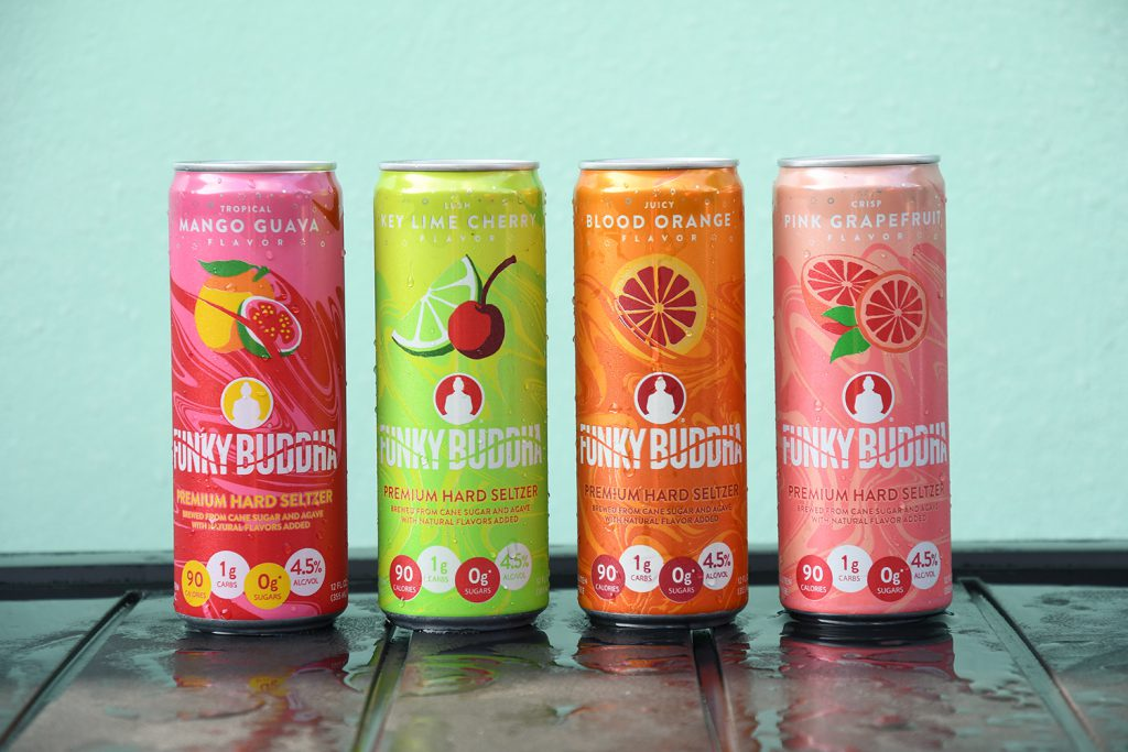 Funky Buddha Releases Premium Hard Seltzers with Vibrant Flavors   Brewbound