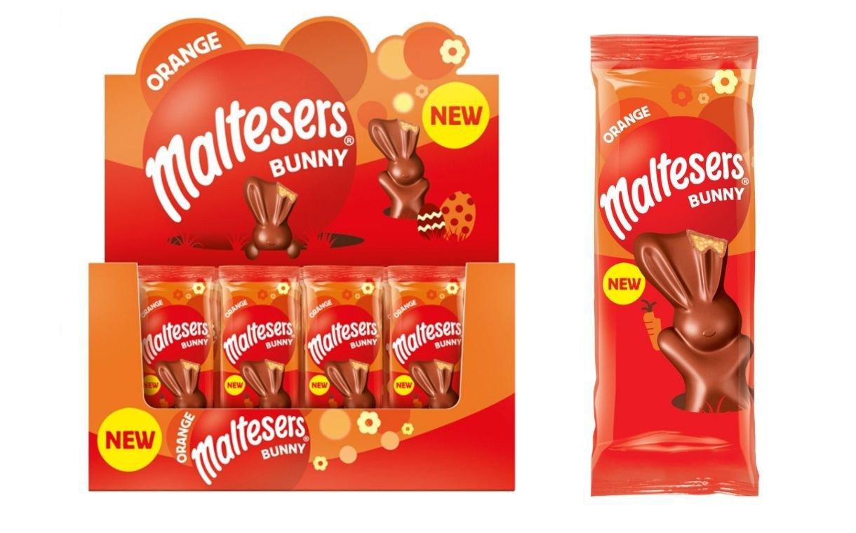 Orange variant of Maltesers Bunny   FoodBev Media