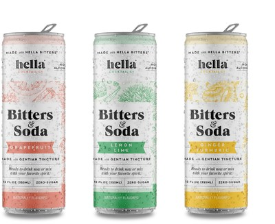 Hella Cocktail Co. Expands Bitters & Soda Line with Three Unique Flavors   Stockhouse