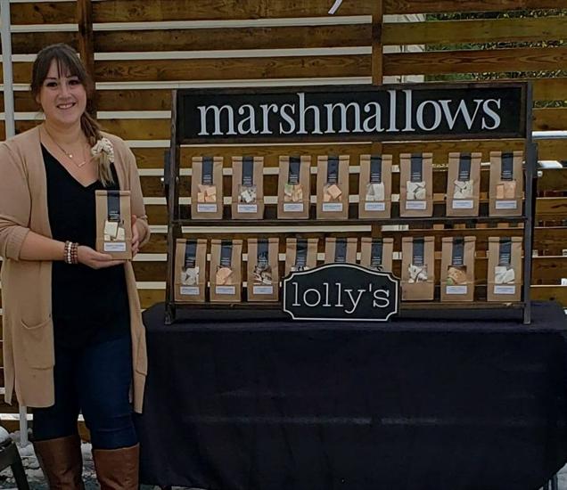 Julia Gordon, owner of Lolly