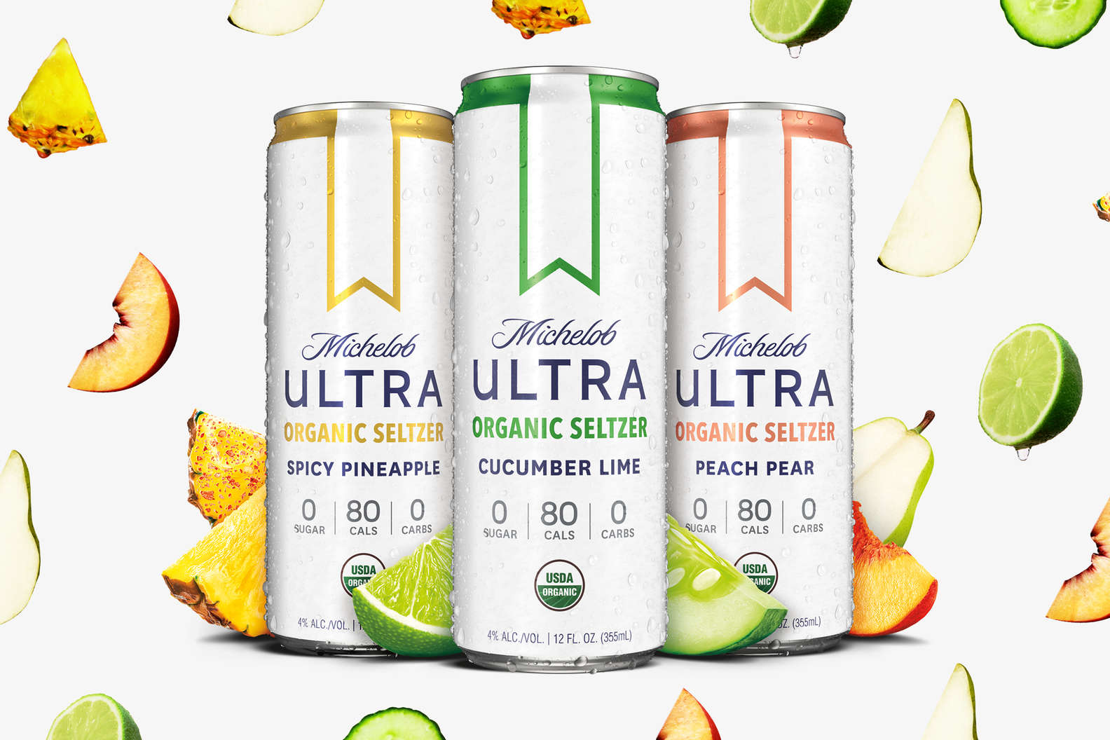 Michelob ULTRA Is Unleashing Its Own Hard Seltzer & the Flavors Are Next Level   Thrillist