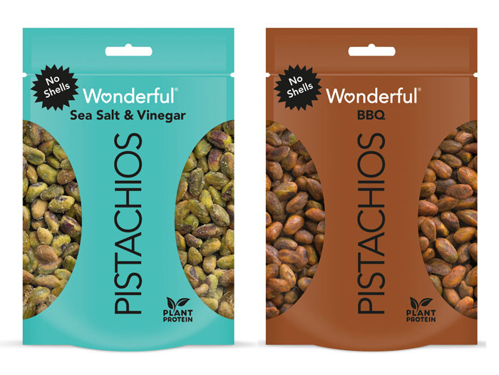Two New Flavors Debut on the Award-Winning Wonderful Pistachios No Shells Lineup for Spring 2021 | Perishable News
