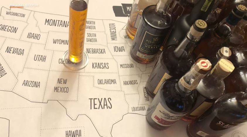 This Man Blended Whiskeys From All 50 States to Make the Ultimate American Spirit  | NBC10 Philadelphia