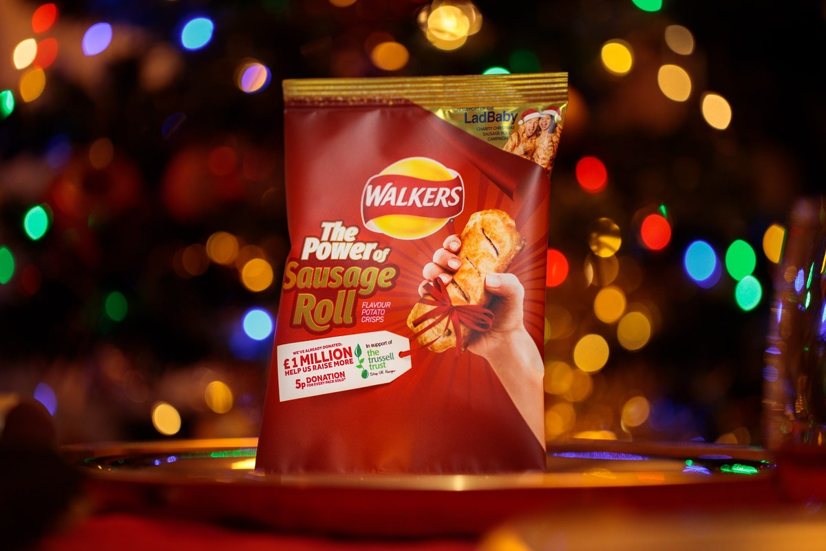 Walkers 'The Power Of Sausage Roll' Crisps