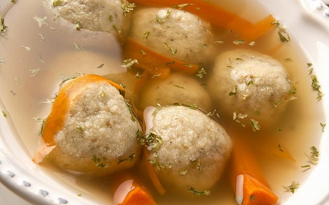 Matzah ball ramen soup, wakame: New foods seen spicing up traditional seder meal   The Times of Israel