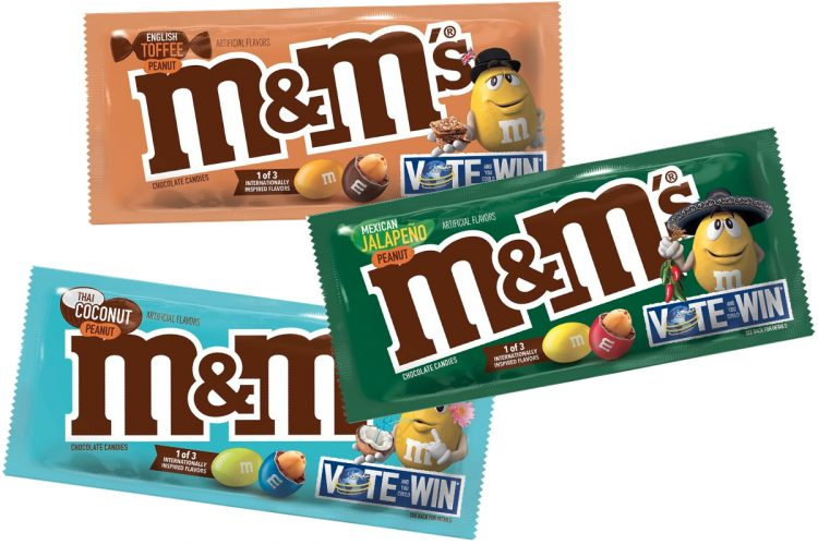 Here Are The 2019 New M&M's Flavours You Can Vote On | Z1035