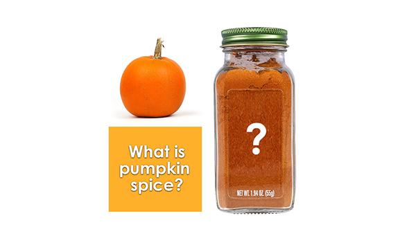 What is pumpkin spice?