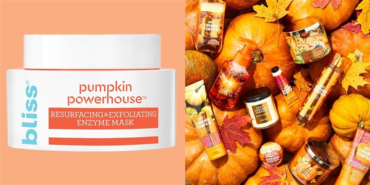Pumpkin spice scented products for fall | Today