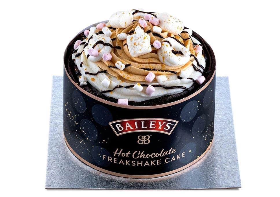 Baileys launches salted caramel and hot chocolate flavour cakes | Independent