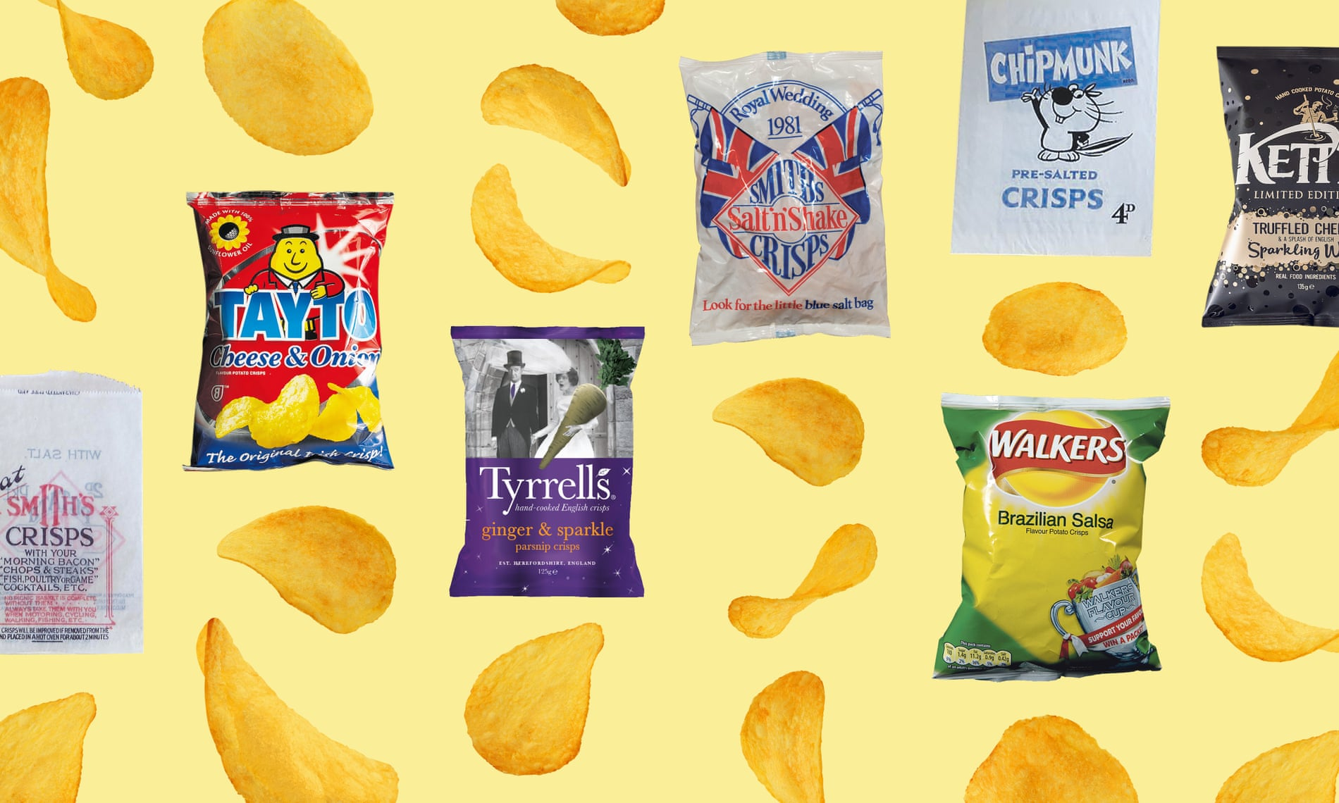 So long, salt and vinegar: how crisp flavours went from simple to sensational | The Guardian