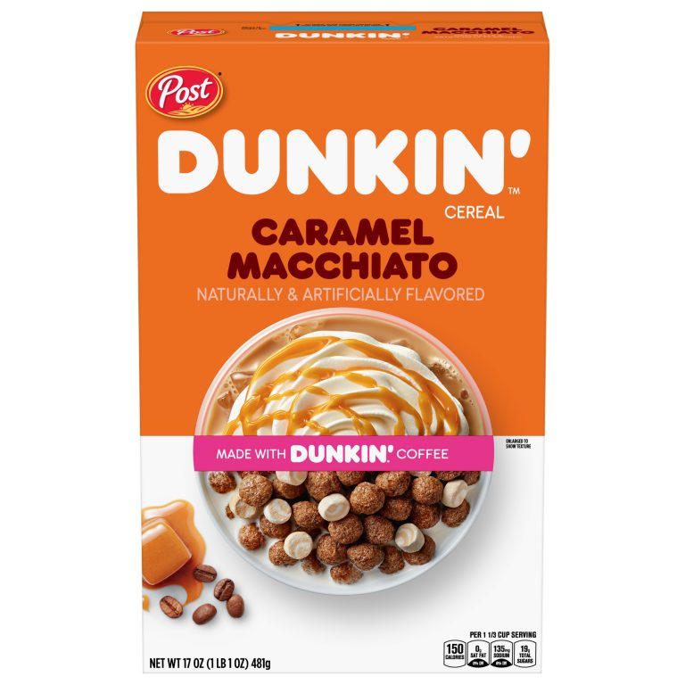 Coffee-flavored cereals: Dunkin and Post Cereals team up to create breakfast hybrid   Food Ingredients First