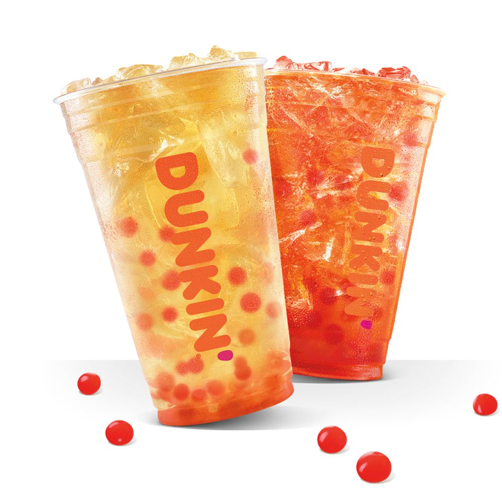 Dunkin' Is Testing Bubble Tea Drinks With New Strawberry Popping Bubbles This Summer   Best Products