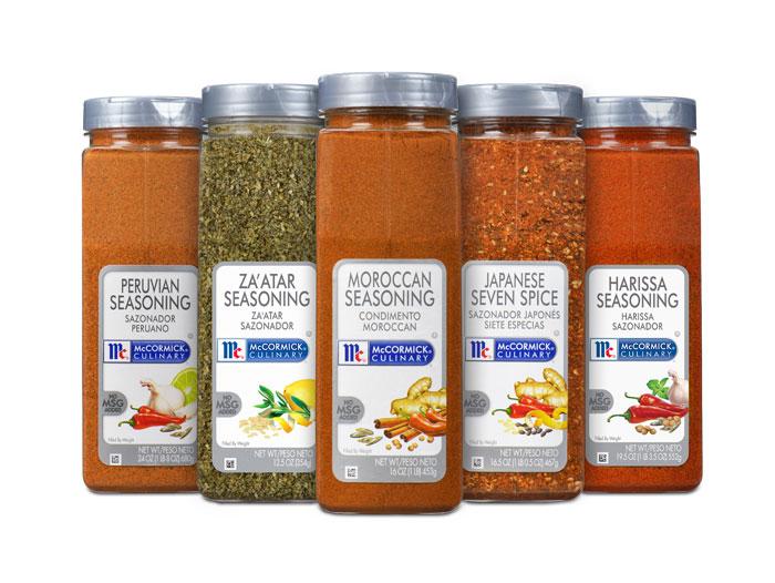 Culinary Blends Offering Five Global Seasonings | Perishable News