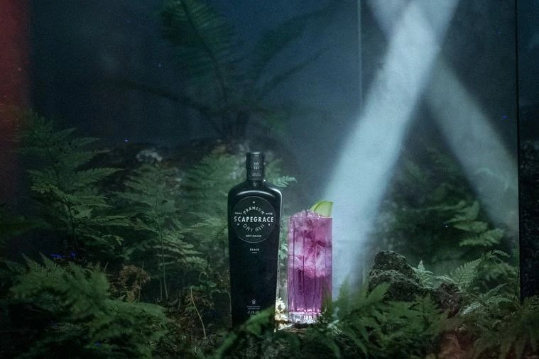 Scapegrace: The world's first naturally black, colour-changing gin launches in Australia   The AU Review