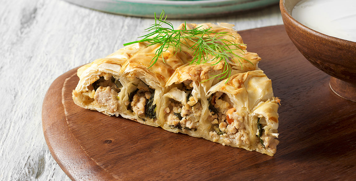 Borek, a savory and flaky pastry from the Balkans | Flavor & The Menu