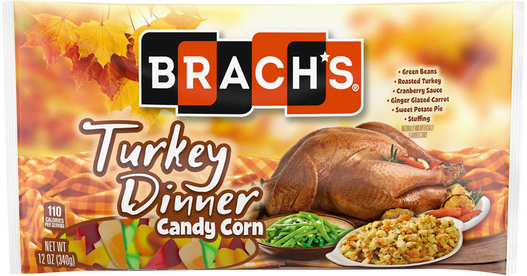 A full-course Thanksgiving meal in a mix of candy-corn flavors & more…   CSP Daily