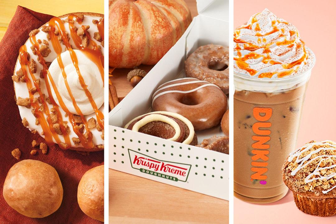 Slideshow: New menu items from Krispy Kreme, Tim Hortons, Dunkin'   Food Business News