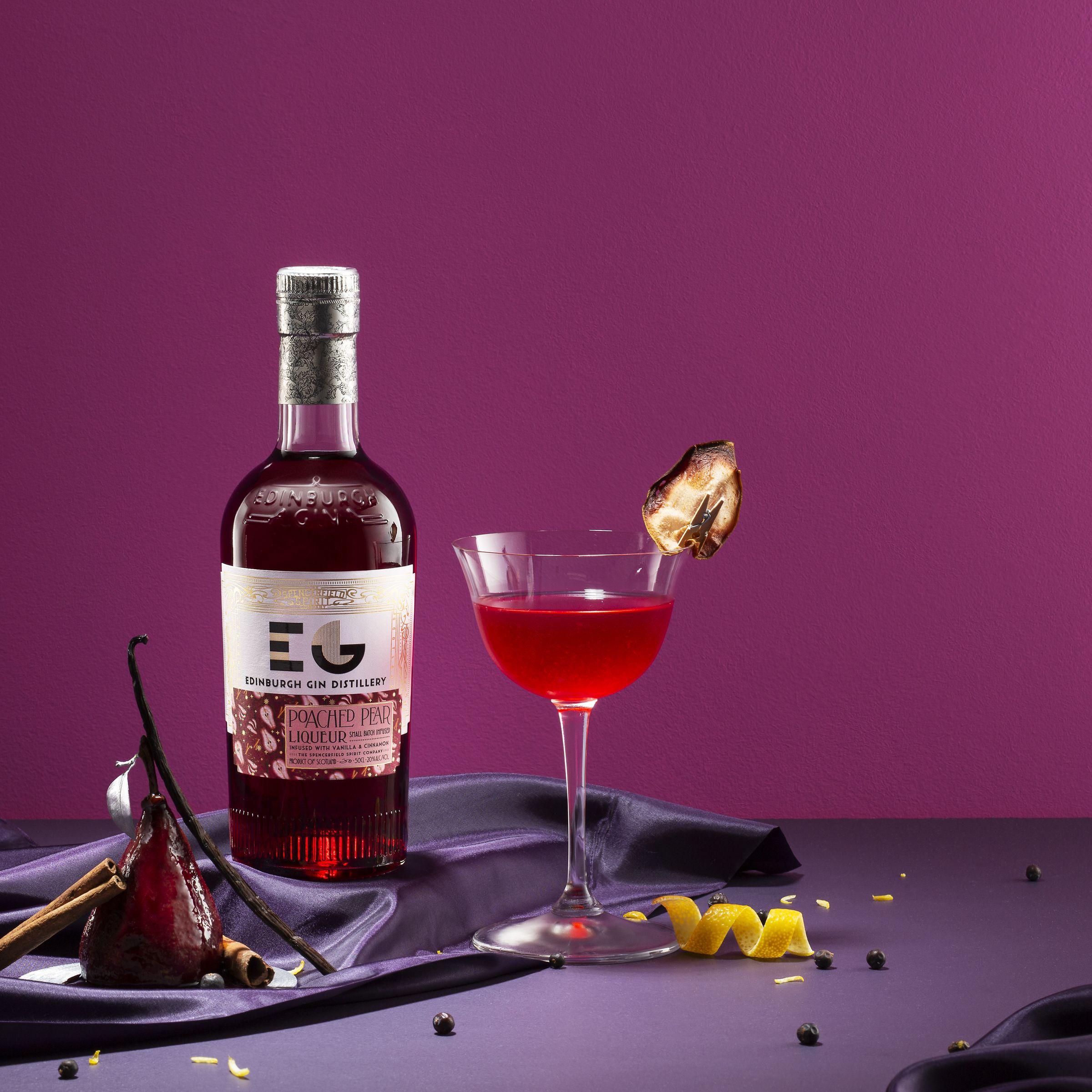 Enjoy Edinburgh Gin's new Poached Pear gin liqueur this Christmas | Good house keeping