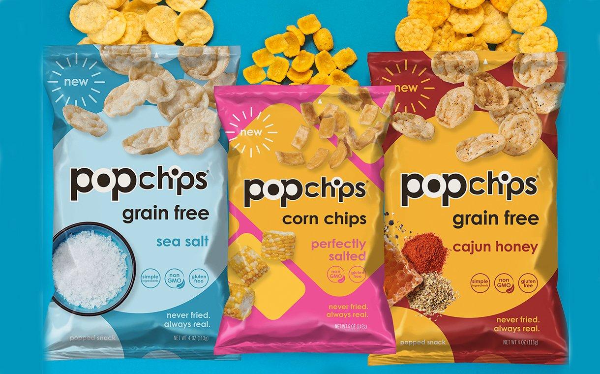 Velocity Snack Brands unveils new Popchips innovations | FoodBev Media