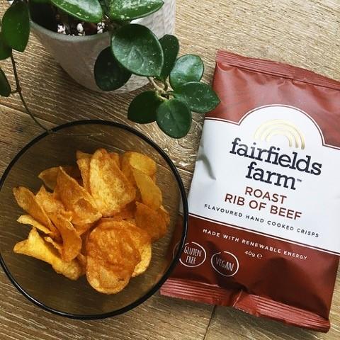 Fairfields Farm launches new vegan beef crisp flavour | Echo