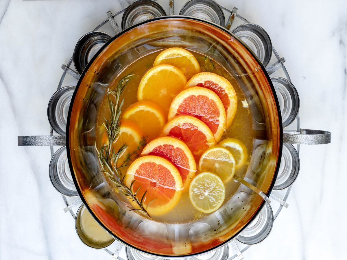 Toast the new year with this rosemary and citrus champagne punch   Rapid City Journal