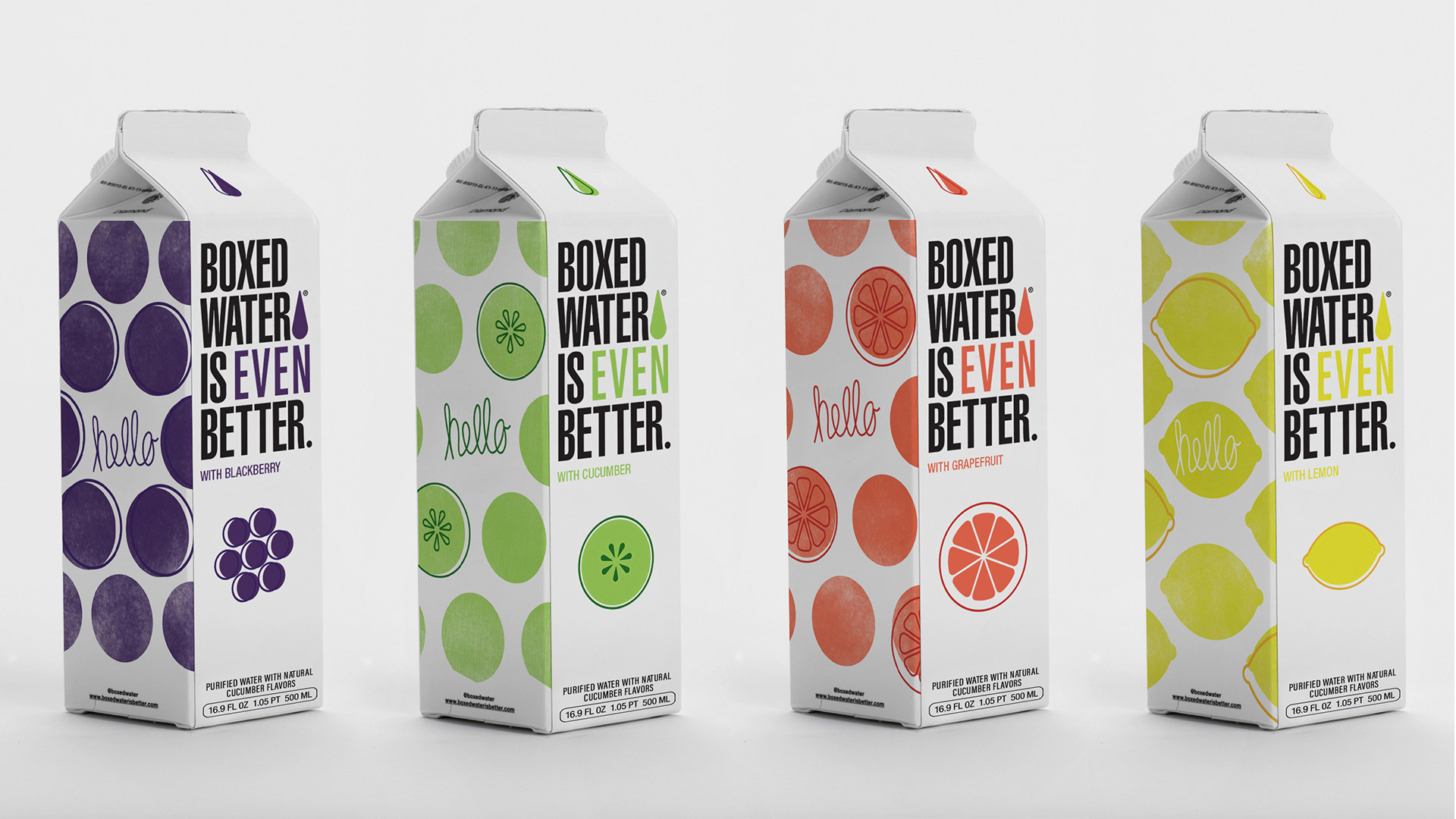 Boxed Water Is Better® Launches Four New Flavors Responding to Mounting Consumer Demand | PR Newswire