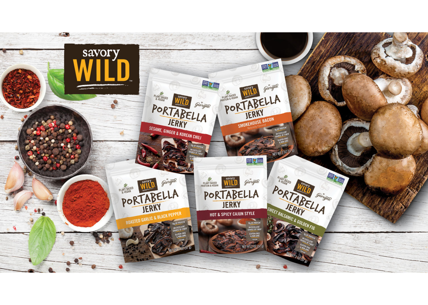 Giorgio adds flavors to Savory Wild portabella jerky line | The Packer