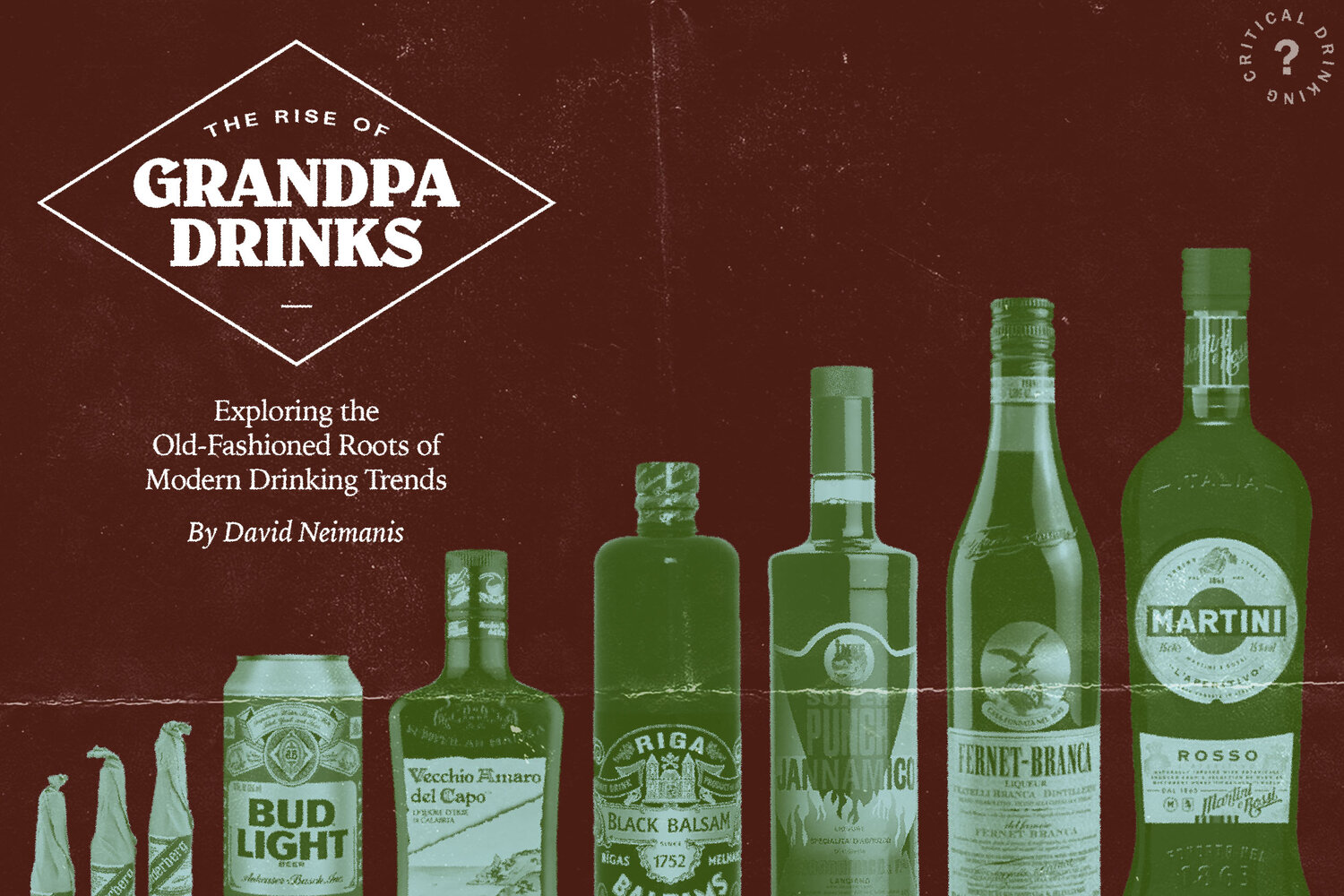 """The Rise of """"Grandpa Drinks"""" — Exploring the Old-Fashioned Roots of Modern Drinking Trends 
