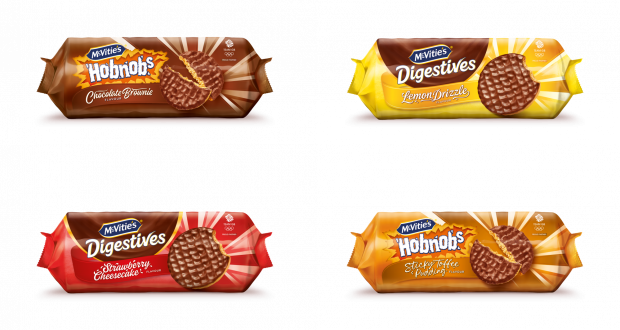 Pladis adds four flavours to best-selling McVitie's brands | Retail Times