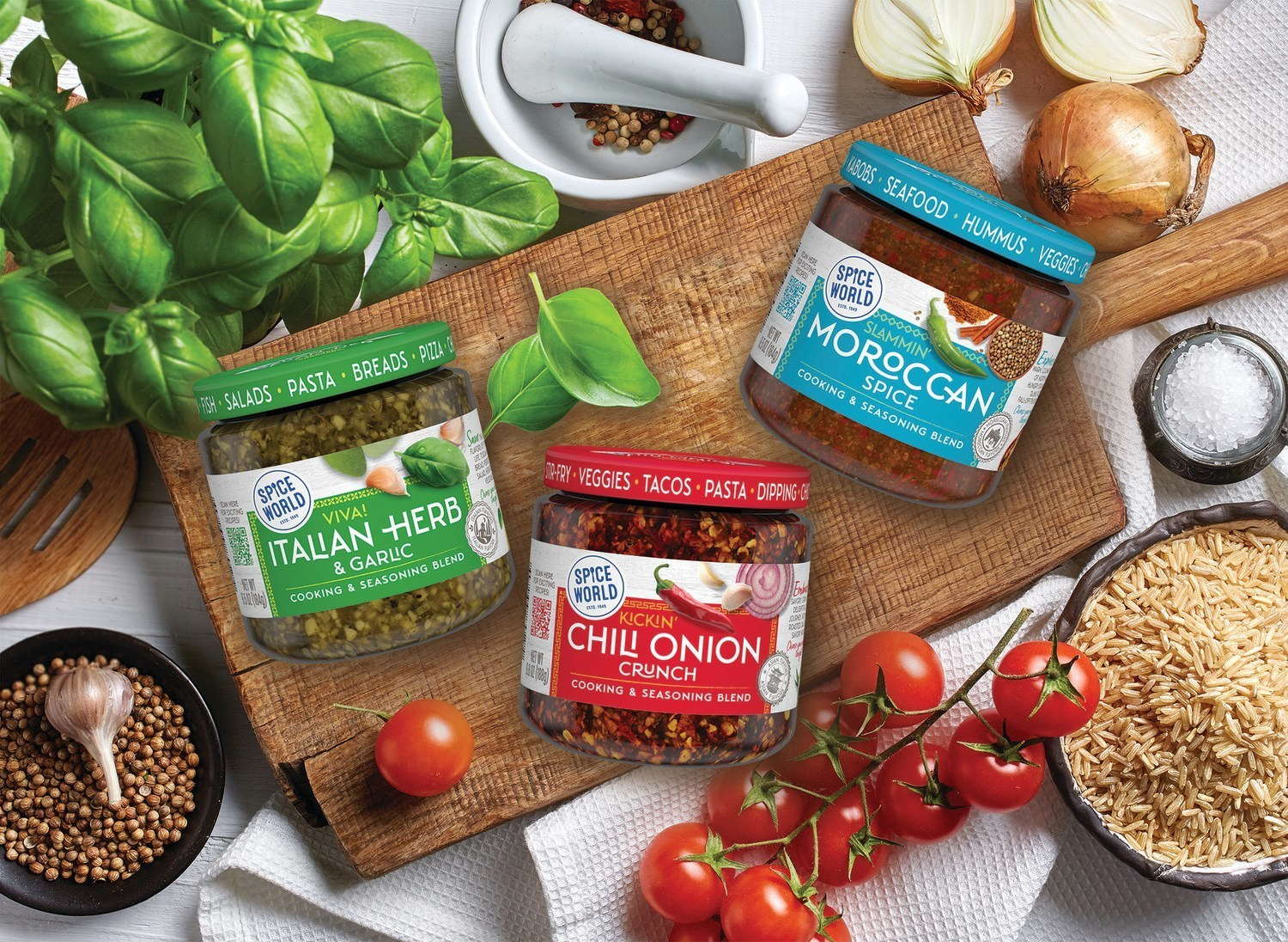 Spice World Launches New Line of Global Flavors | PRNewswire