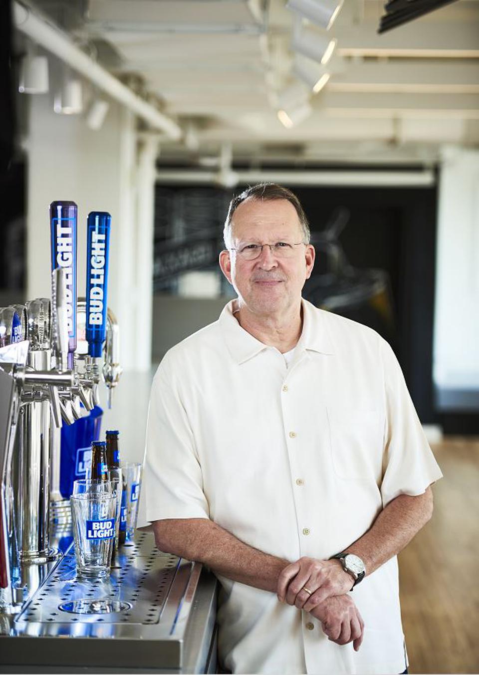Goeler is Bud Light's vice president of marketing.