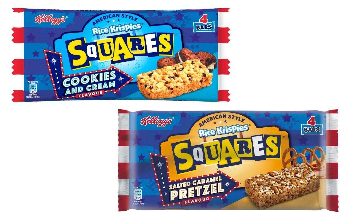 Kellogg launches new Rice Krispies Squares American range | FoodBev Media