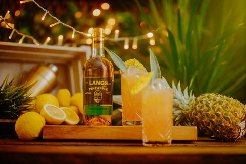 langs mango and ginger and pineapple rums