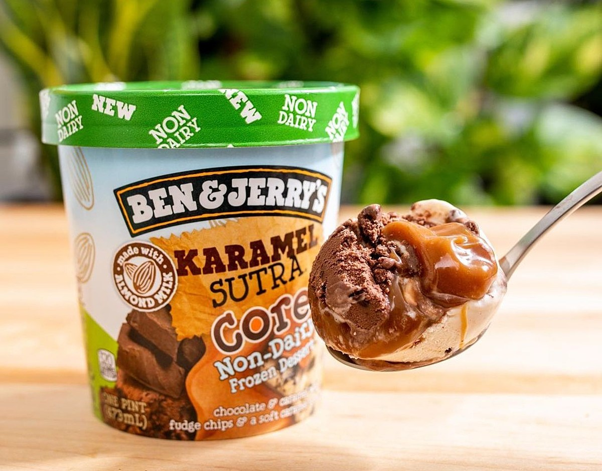 Ben & Jerry's Debuts Karamel Sutra, Its 17th Non-Dairy Ice Cream | The Beet