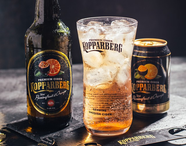 Kopparberg adds Passionfruit & Orange Cider | Drinks Retailing News