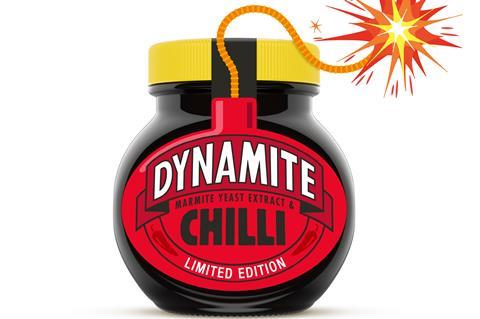 Marmite launches limited-edition Dynamite with chilli | The Grocer